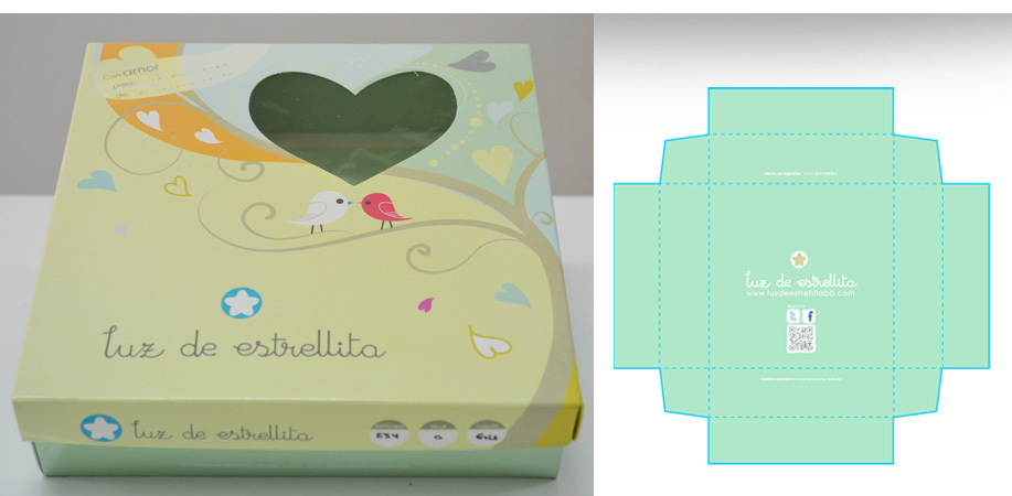 Dise o de caja p ropa bb for Packaging ropa interior